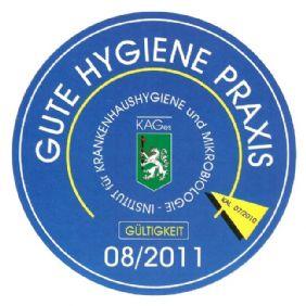 Gute Hygiene Praxis: Jährliche freiwillige Überprüfung der Praxis, ob alle gesetzlichen Bestimmungen erfolgreich eingehalten werden.